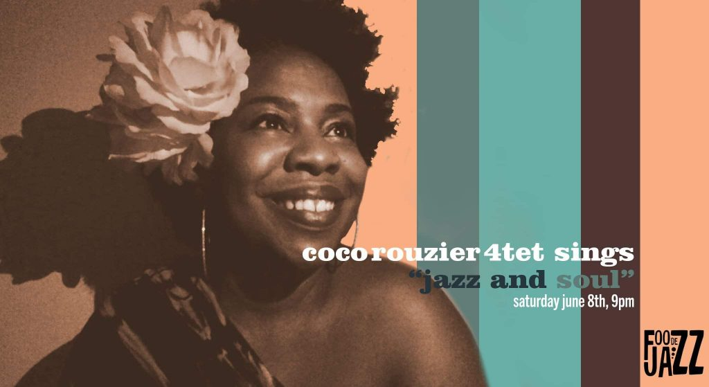 Coco Rouzier Quartet Live at FooJohn Building Poster