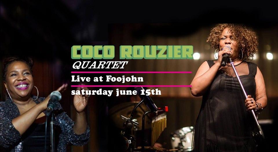 Coco Rouzier Quartet. Event music.