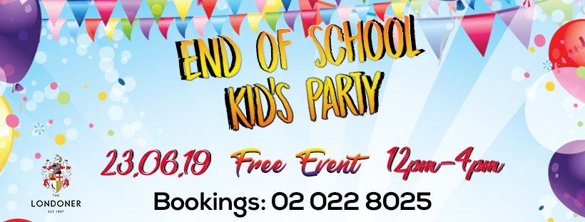 End of school. Kid's Party