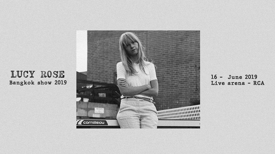 Lucy Rose Bangkok Show 2019. Music Event