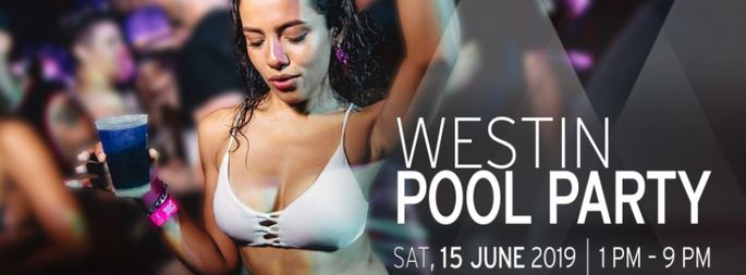 Westin Pool Party. Event Party