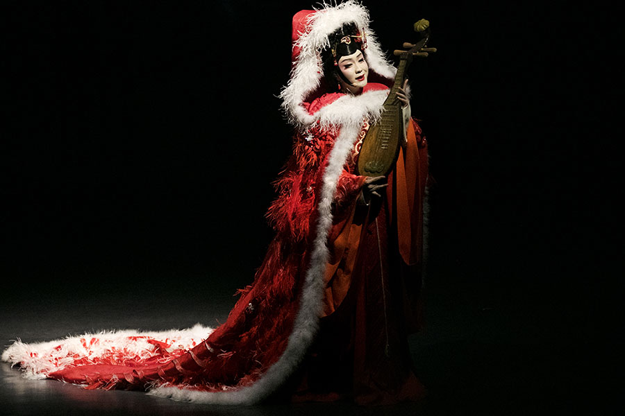 Lady Zhaojun by Li Yugang Performance Event October 5 6