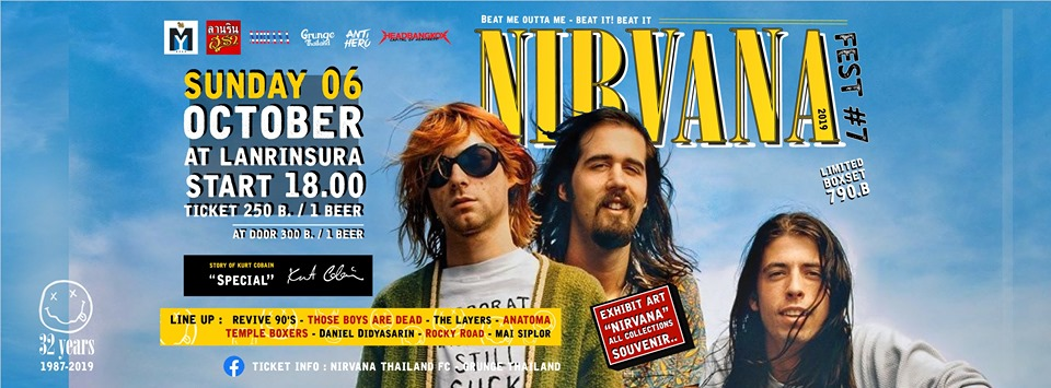 Sunday 6 October Nirvana Thailand at Lanrinsura